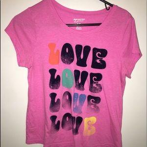 pink girls tee shirt